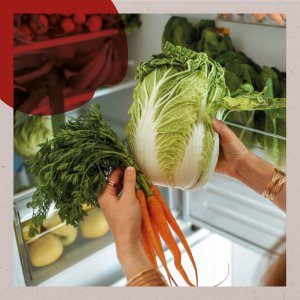 Should you keep vegetables in the fridge or in a cupboard?
